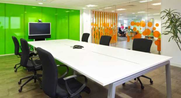 Colorful Office Walls