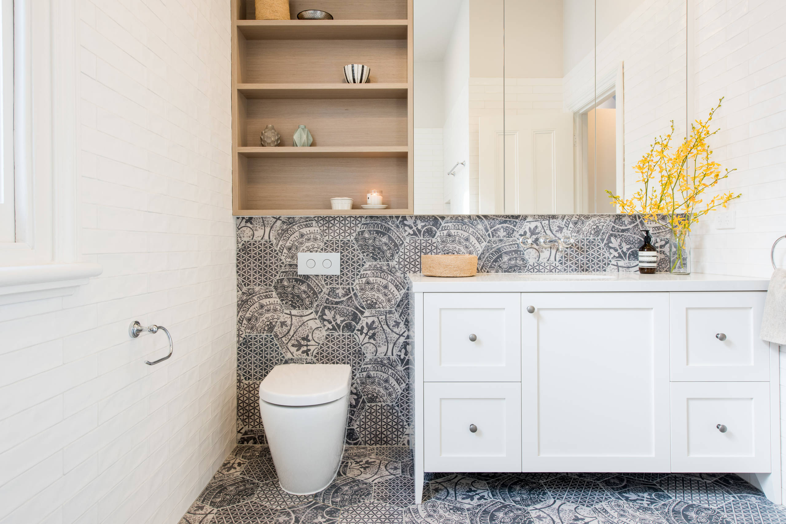 Combination Toilet