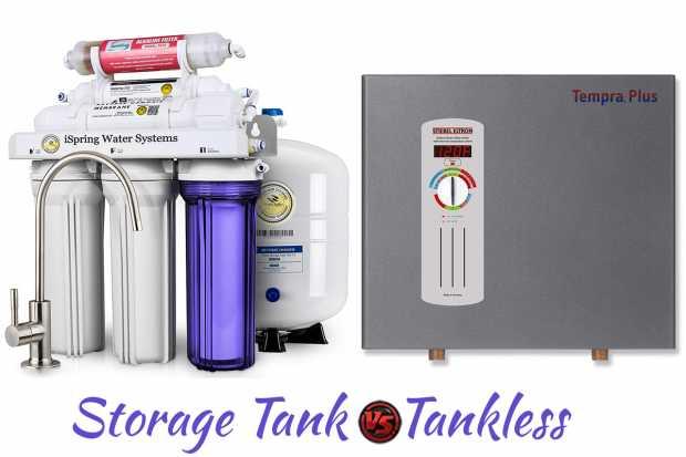 Storage Tank Versus Tankless Water Heaters