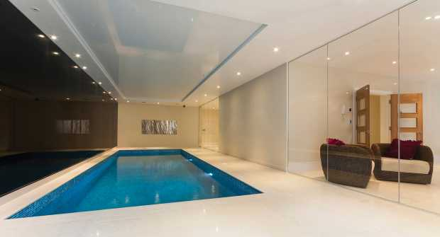 Basement Pool Movable Floor