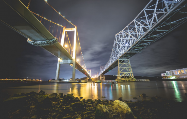 bridges built with steel