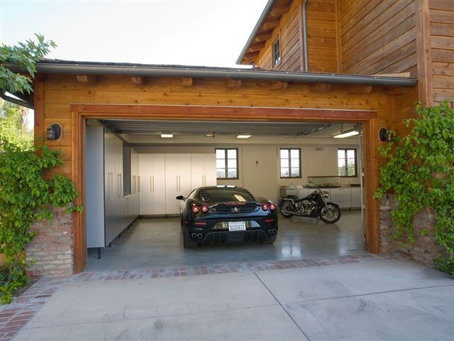 Contemporary Garage