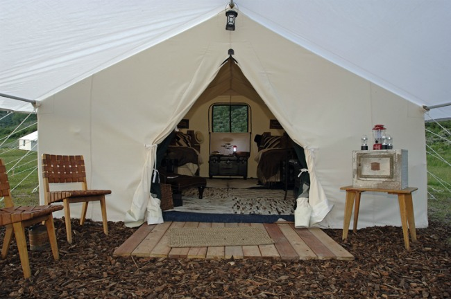 Luxury Canvas Tent