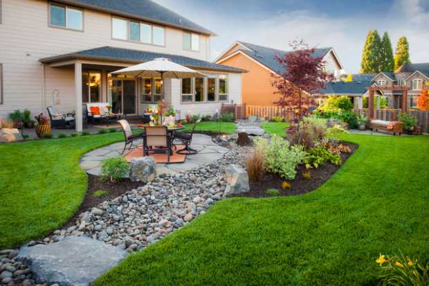 Traditional Landscape And Yard