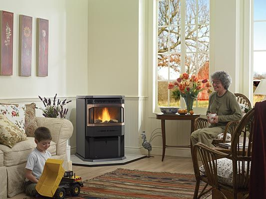 Environment Friendly Pellet Stove