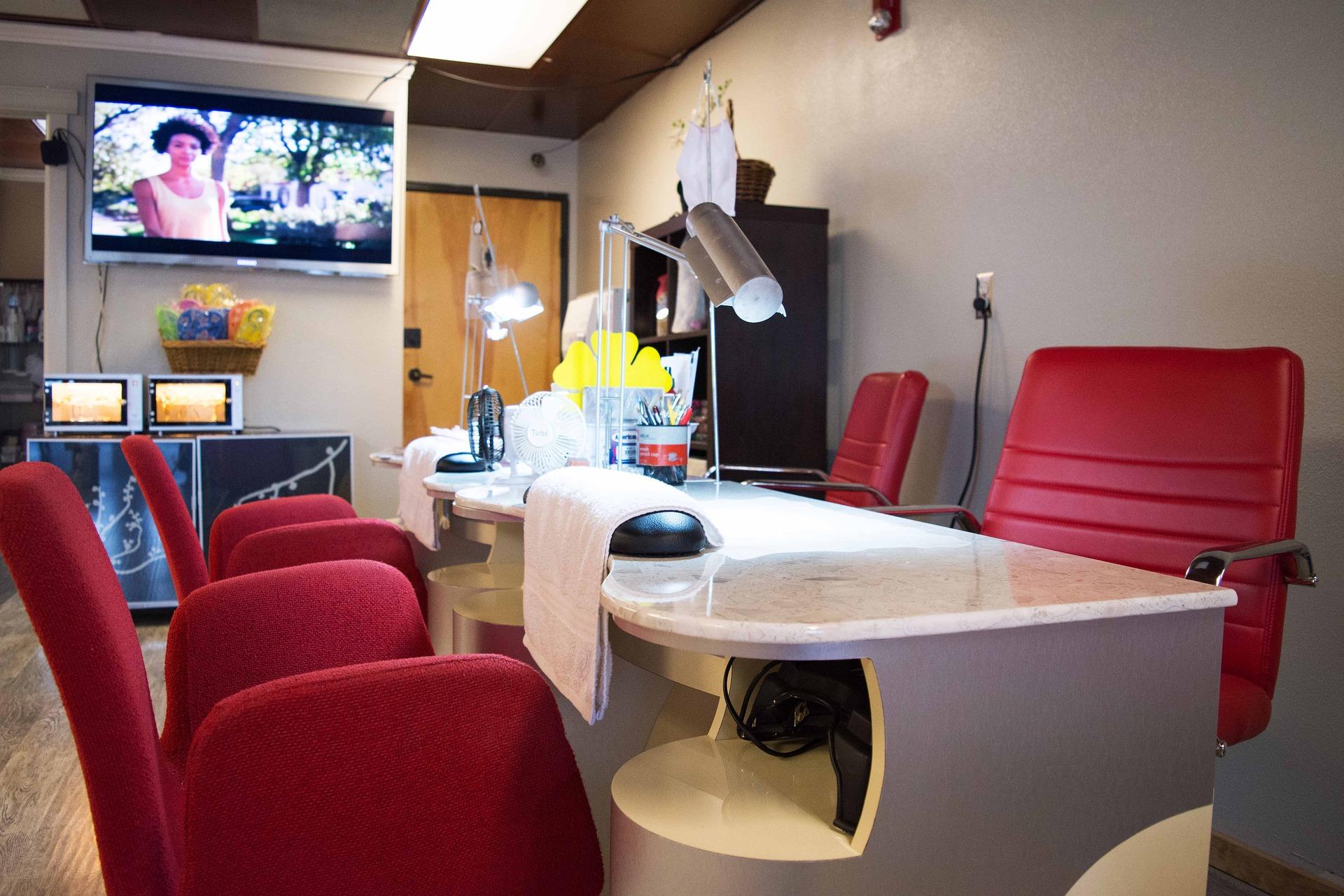 Nail Salon Countertop