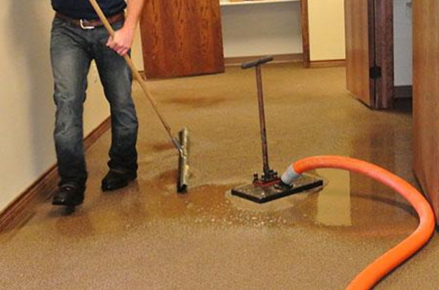 Water Damage Clean-Up Efforts