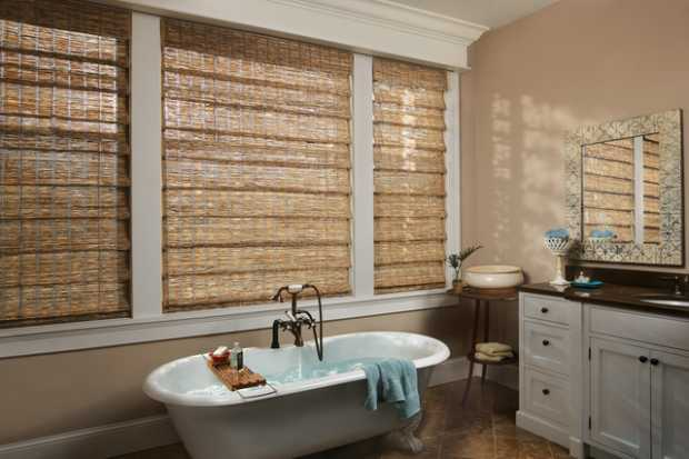 Cold Bathroom Blinds