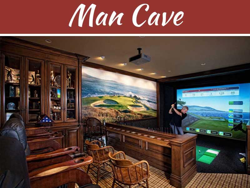 A Man Cave As A Private Cigar Bar