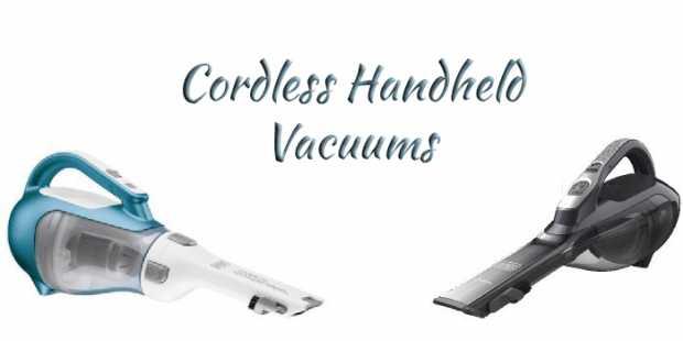 Cordless Handheld Vacuums