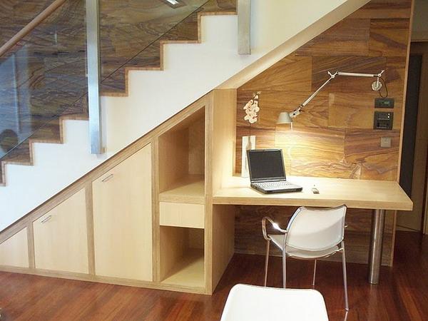 Under-Stair Workstation