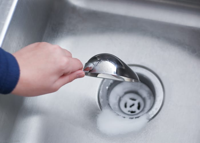 Baking Soda With Elements - Drain Cleaning