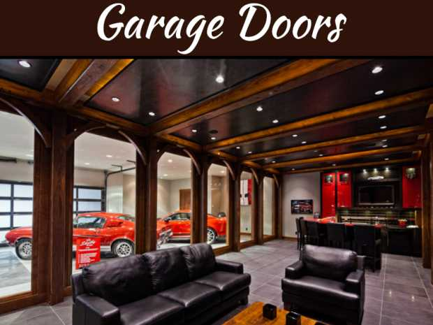 Interior Design Tips For Turning Your Garage Into An Entertainment Space