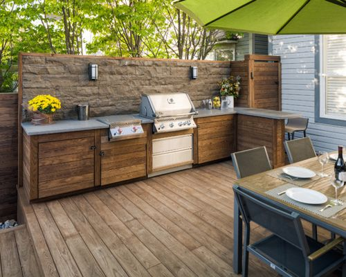 Create An Outdoor Kitchen