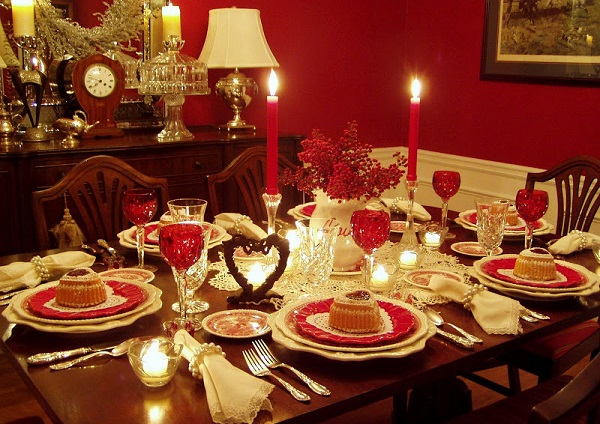 Romantic Dinner Table Decor