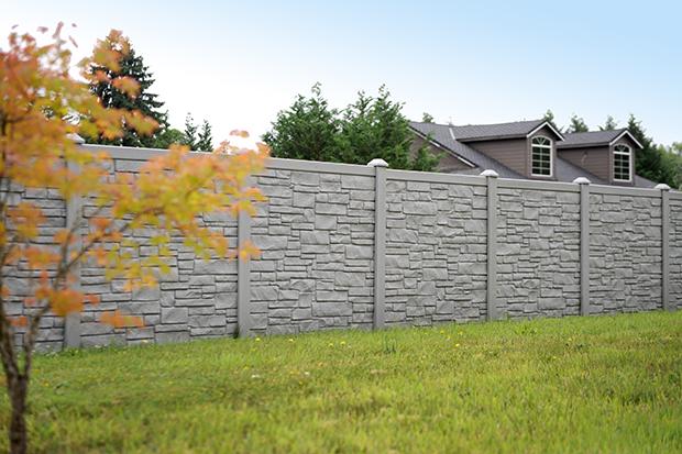 Stone Wall Divider
