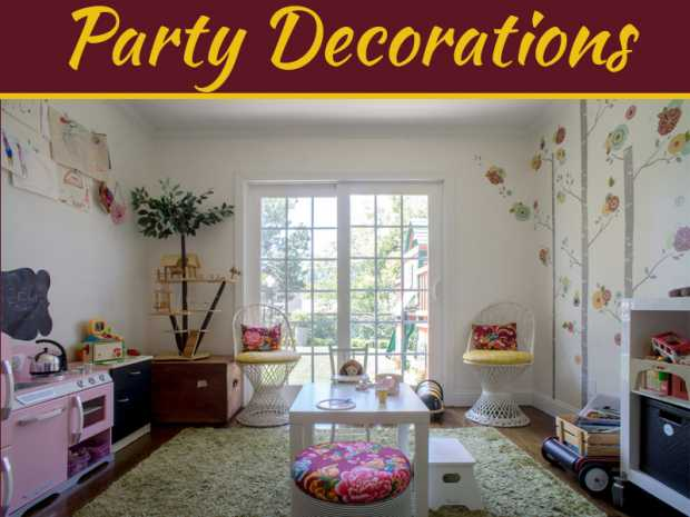 The Best Party Decor For Your Next House Party