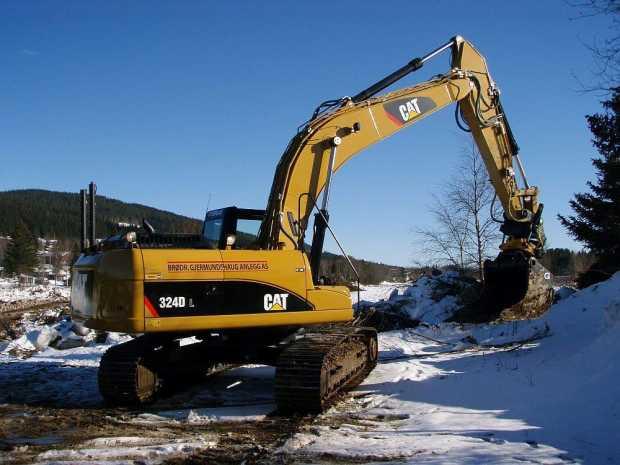 CAT 224DL Excavator Rentals