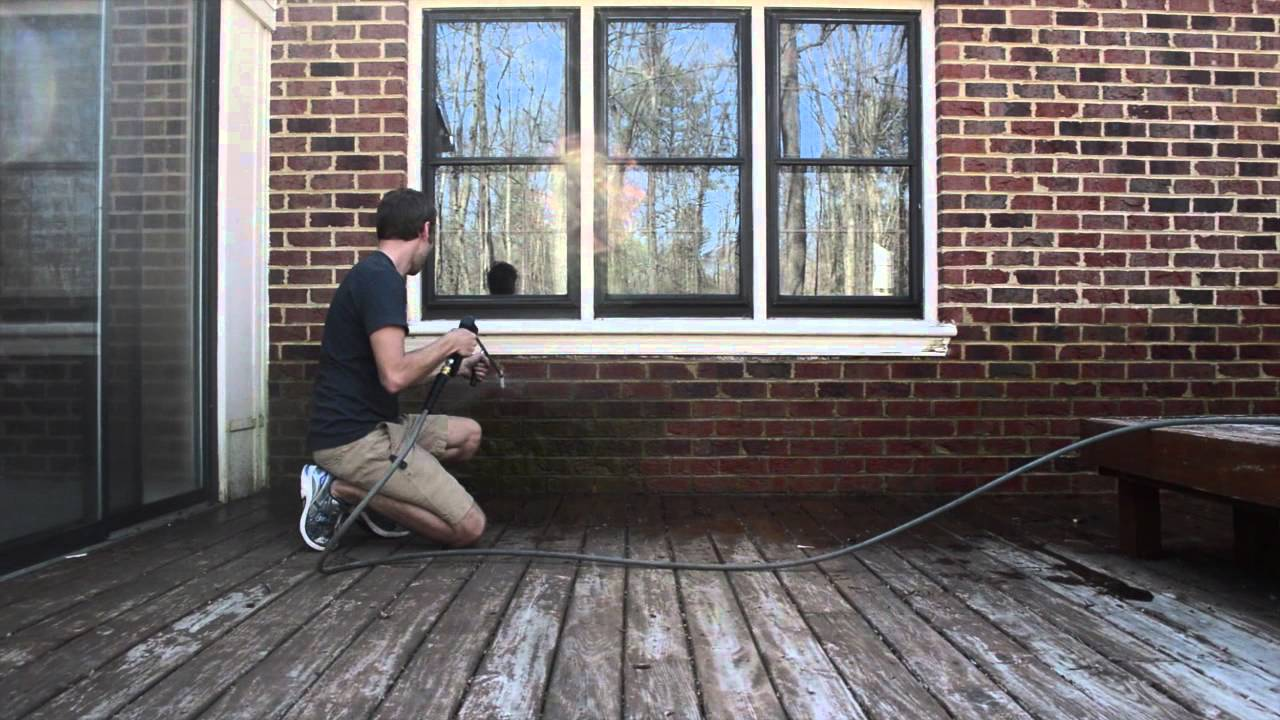How To Pressure Wash A Brick House Complete Step By