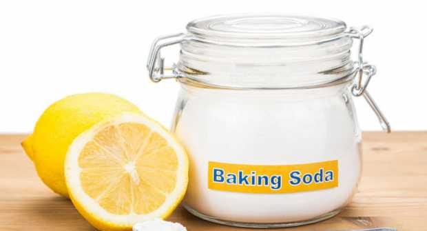 Mix Lemon Juice With Baking