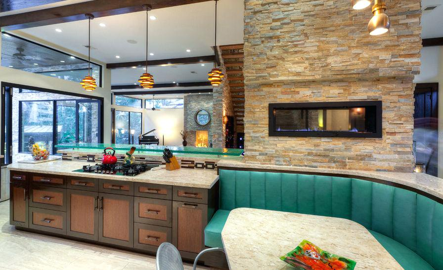 Mixed Tone Cabinetry