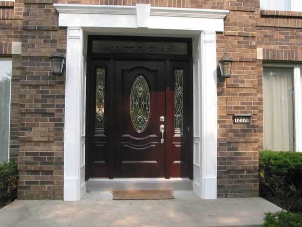 Paint The Entry Doors