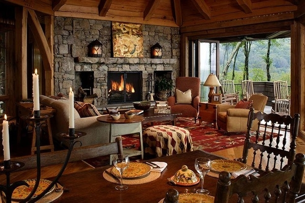 Rustic Themed Cave