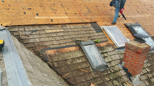 Replace Your Fatigued Old Roofing System