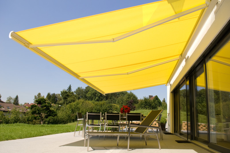 Folding Arm Awnings Adjustable Settings