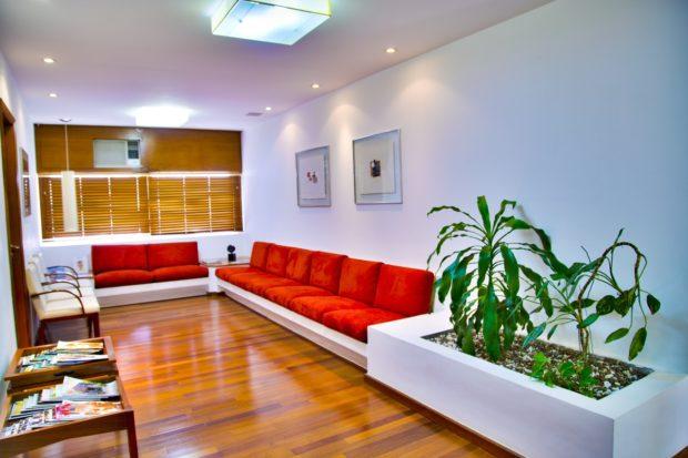 Comfortable Spacious Sofa In Living Room