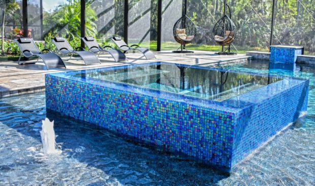 Custom Shaped Awesome Swimming Pool