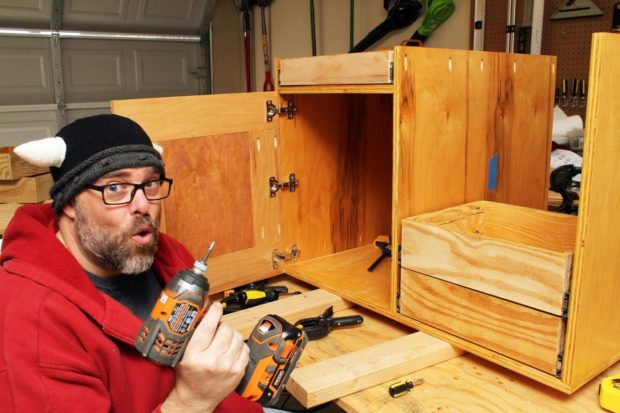Refinish Your Existing Cabinets