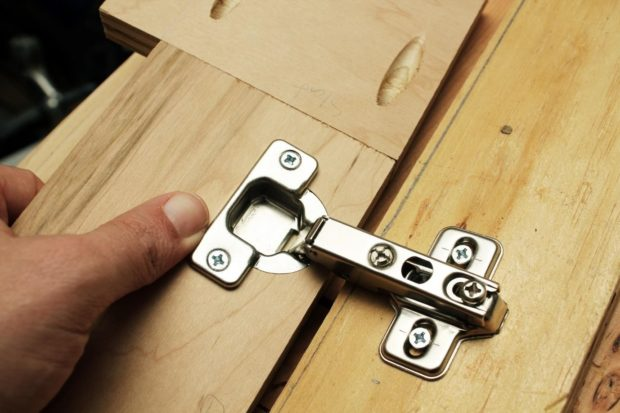 Replacing Hinges And Handles