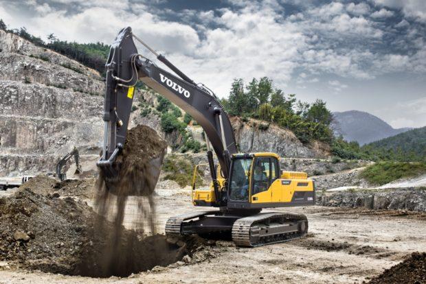 Volvo EC250 D Excavator Rental