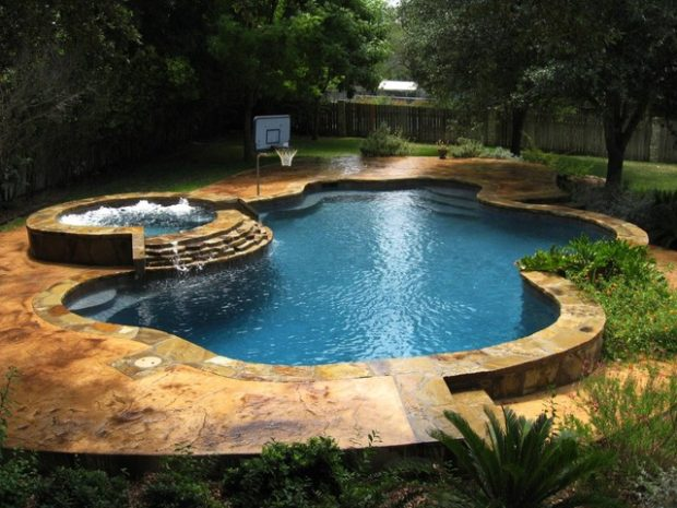 Flagstone Pool Decking