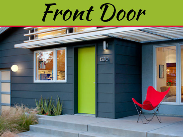 What Your Home's Front Door Says About You