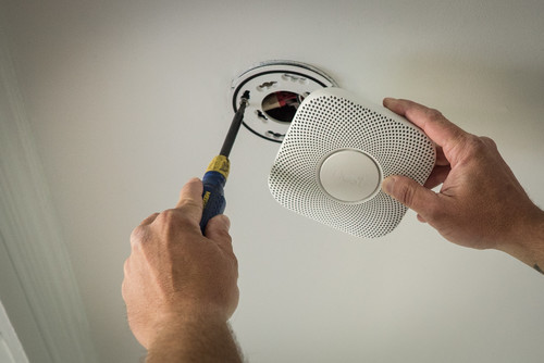 Check The Batteries of Smoke Alarms