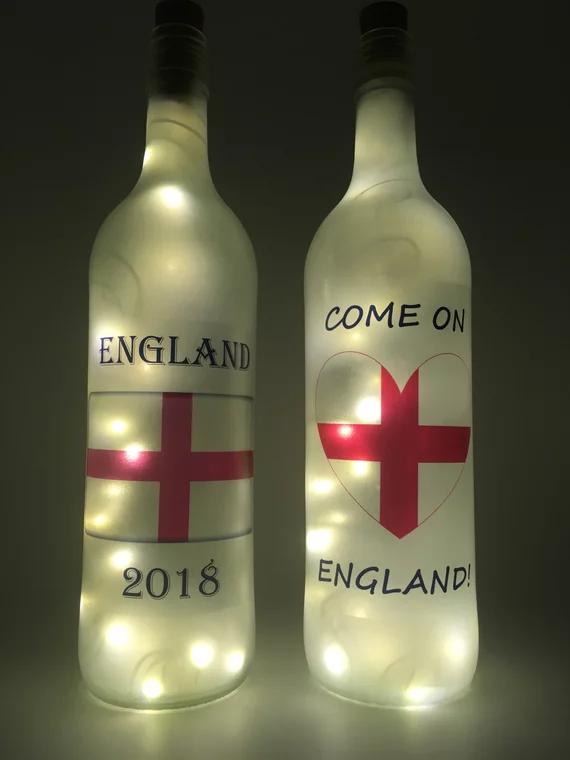National Side Fairy Light Bottles