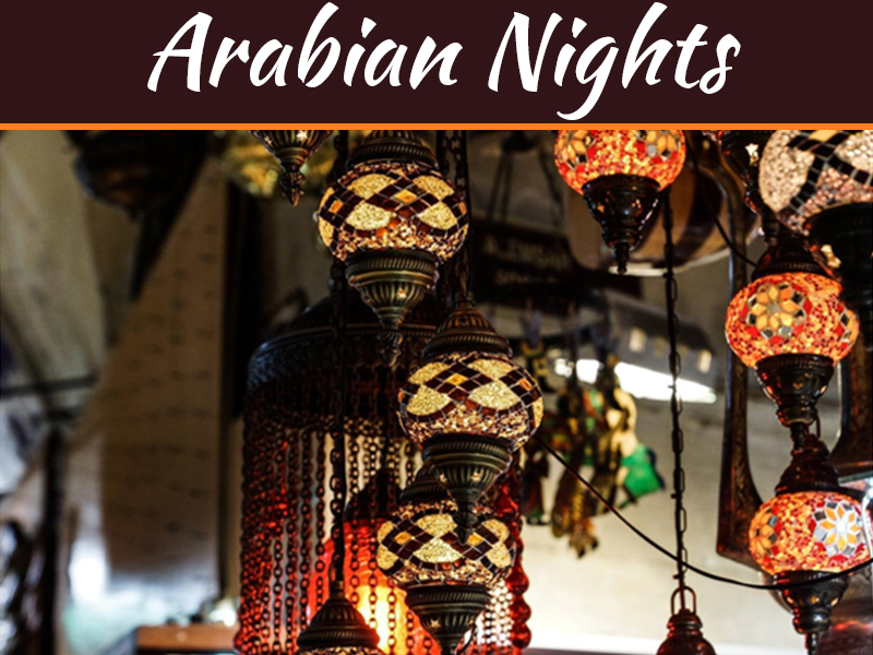 Arabian Nights - 5 Ways To Bring Some Middle Eastern Flair To Your Home