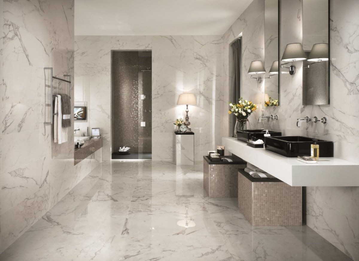 Luxury Bathroom Tile Ideas