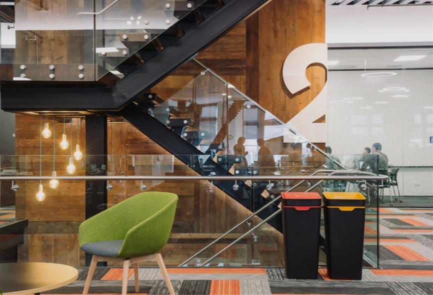 Method Office Recycling Bins