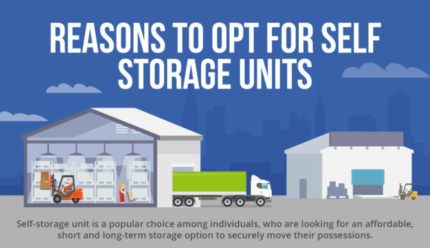 Reasons To Opt For Self Storage Units