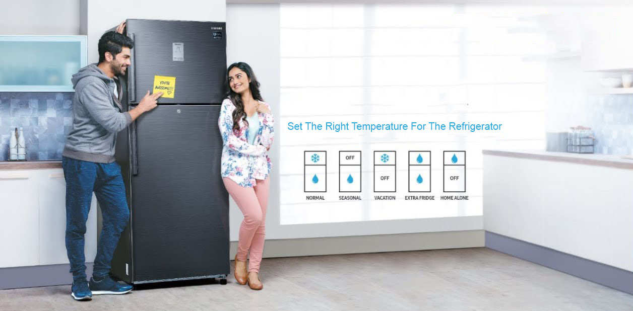 Set The Right Temperature For The Refrigerator