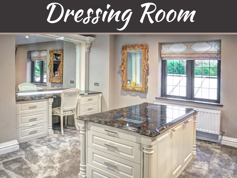 Five Top Tips For Designing The Dressing Room Of Your Dreams