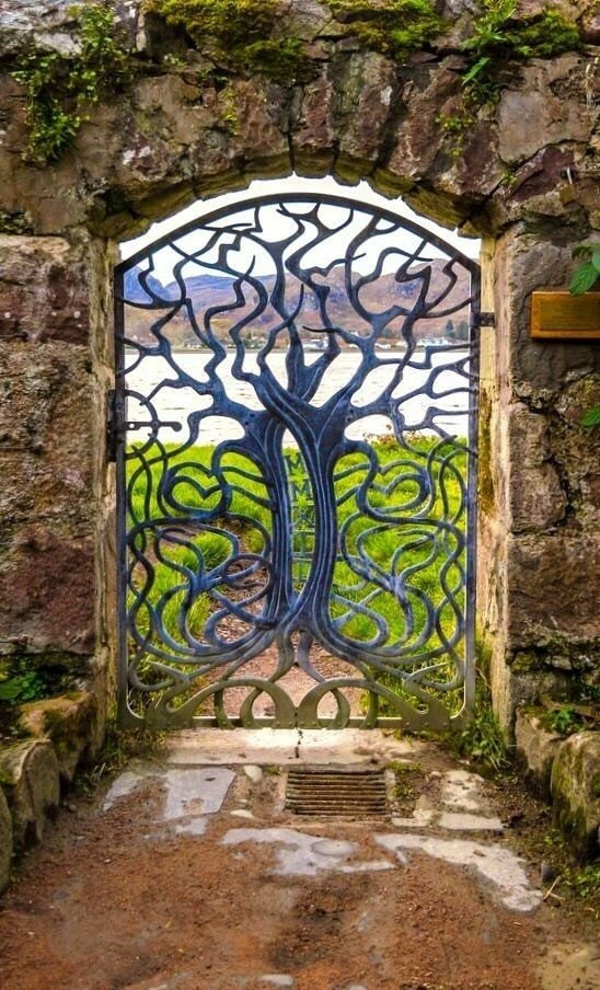 Inverewe Garden Gate