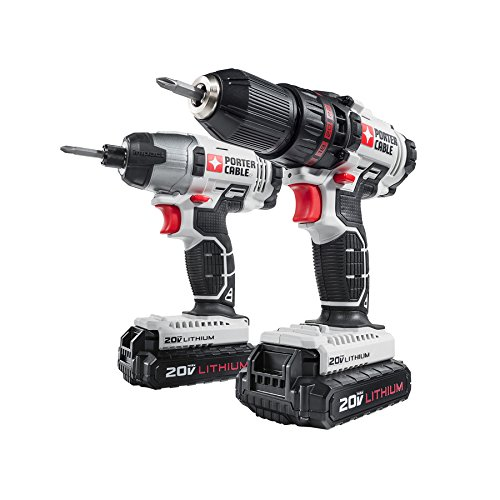 2-Tool Cordless Drill/Driver And Impact Driver Combo Kit
