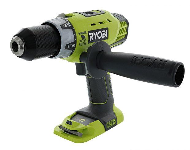 RYOBI P214 ONE 18 Volt ONE 12 In Best Cordless Hammer Drill