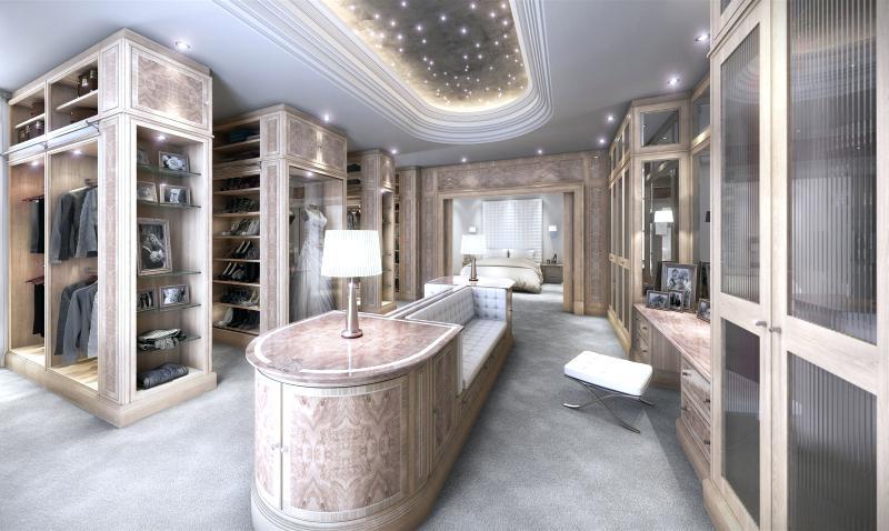 Contemporary Dressing Room Design