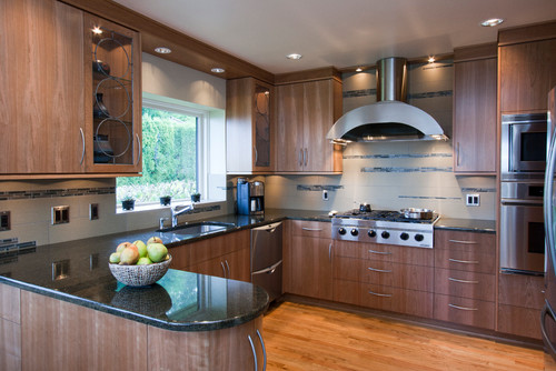 Stylish Kitchen Countertop is found in different shapes which include \u2013 L shape U shape or G shape. If your kitchen area is not big enough ... & Stylish Kitchen Countertops Ideas For Modern Kitchen | My Decorative