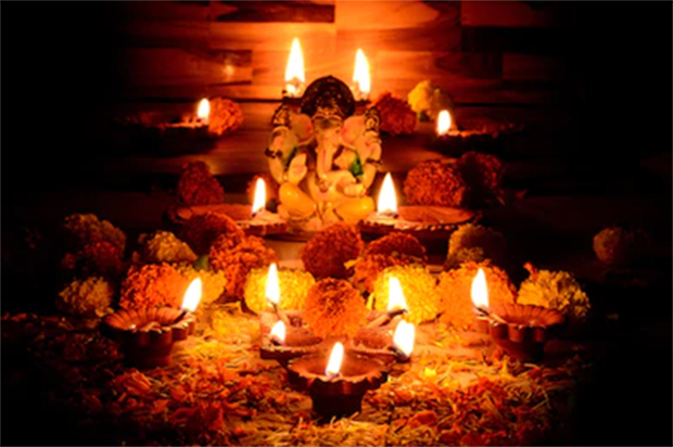 Ganpati Festival Decoration Lighting